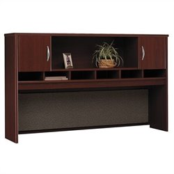 Bush BBF Series C 72W Hutch (2 Door) in Mahogany