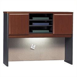Bush Business Furniture Series A 48W Hutch in Hansen Cherry