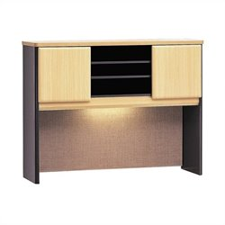 Bush BBF Series A 48W Hutch in Beech