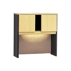 Bush Business Furniture Series A 36W Hutch in Beech