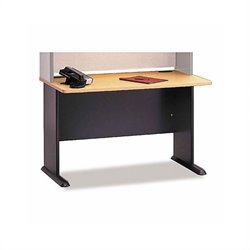 Bush BBF Series A 6-Piece U-Shape Desk Set in Beech