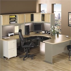 Bush BBF Series A 5-Piece U-Shape Corner Cubicle Set