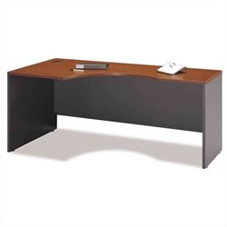 Bush BBF Series C Auburn Maple Right  L-Shaped Desk