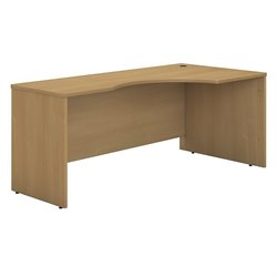 Bush Business Furniture Series C 72W RH Corner Module in Light Oak