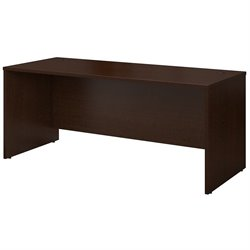 Bush BBF Series C 72W Desk Shell in Mocha Cherry