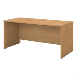 Bush Business Furniture Series C 60W Credenza Shell in Light Oak