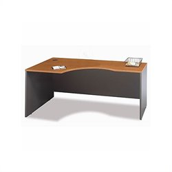 Bush Business Series C 3-Piece U-Shape Bow-Front Corner Desk