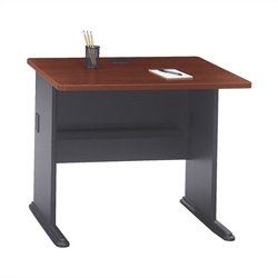 Bush Business Furniture Series A 36W Desk in Hansen Cherry