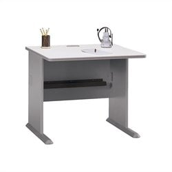 Bush BBF Series A 36W Desk in Pewter