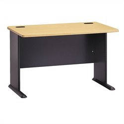 Bush BBF Series A 48W Desk in Beech