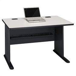 Bush BBF Series A 48W Desk in Slate