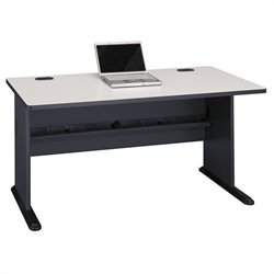 Bush Business Furniture Series A 60W Desk in Slate