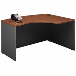 Bush BBF Series C Auburn Maple Left L-Shaped Desk
