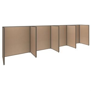 ProPanel 4 Person Open Office Cubicle in Harvest Tan PPC007/8
