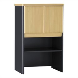 Bush BBF Series A 24W Storage Hutch in Beech