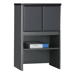 Bush Business Furniture Series A 24W Storage Hutch in Slate