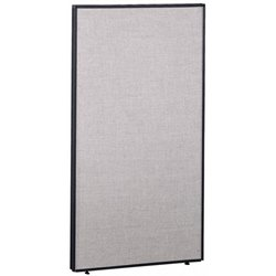 Bush Business Furniture PP66736 Privacy Panel in Light Gray