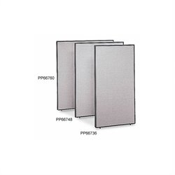 Bush BBF PP66760 Privacy Panel (66H x 60W) in Light Gray