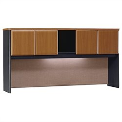 Bush Business Series A 72W Hutch in Natural Cherry