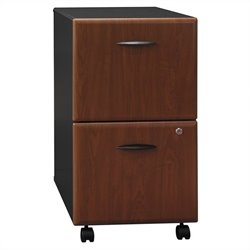 Bush Business Series A 2Dwr Mobile Pedestal in Hansen Cherry