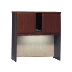 Bush BBF Series A 36W Hutch in Hansen Cherry