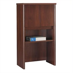 Bush BBF Series C 24W Hutch in Hansen Cherry