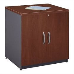 Bush BBF Series C 30W Storage Cabinet in Hansen Cherry