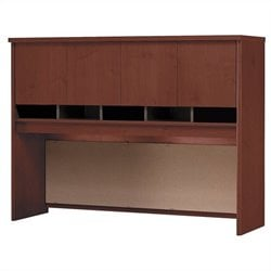 Bush BBF Series C 60W Hutch in Hansen Cherry