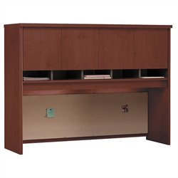 Bush Business Furniture Series C 60W Hutch in Hansen Cherry