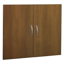 Bush BBF Series C Half Height Door Kit (2 doors) in Warm Oak