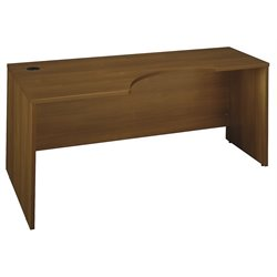 Bush Business Furniture Series C 72W LH Corner Module in Warm Oak