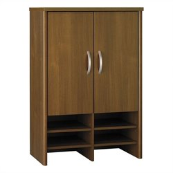 Bush BBF Series C 30W Hutch in Warm Oak