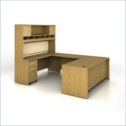 Bush BBF Series C 004 Executive Configuration in Warm Oak