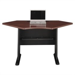 Bush Business Furniture Series A 42W Corner Desk in Hansen Cherry