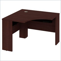 Bush BBF Quantum 42W x 42D Universal Corner Desk in Harvest Cherry