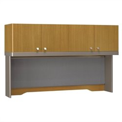 Bush Business Furniture Quantum 60W Hutch (Tall) in Modern Cherry