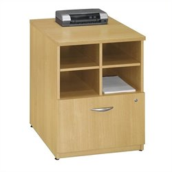 Bush Business Series C 24W Piler-Filer in Light Oak