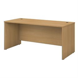 Bush BBF Series C 66W Desk Shell in Light Oak
