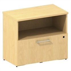 Bush BBF 300 Series 1-Drawer Lateral File in Natural Maple