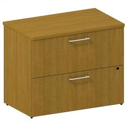Bush BBF 300 Series 2-Drawer Lateral File in Modern Cherry