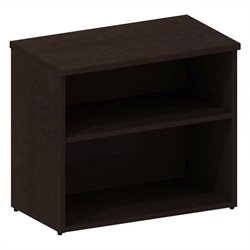 Bush BBF 300 Series Lower Bookcase Cabinet in Mocha Cherry