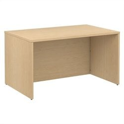 Bush BBF 300 Series 48W x 30D Shell Desk Kit in Natural Maple