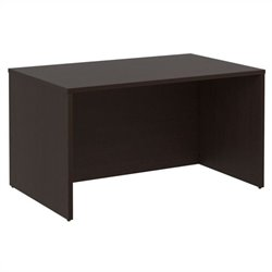 Bush BBF 300 Series 48W x 30D Shell Desk Kit in Mocha Cherry
