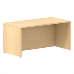 Bush BBF 300 Series 60W x 30D Shell Desk Kit in Natural Maple