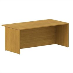 Bush BBF 300 Series 72W x 36D Shell Desk Kit in Modern Cherry