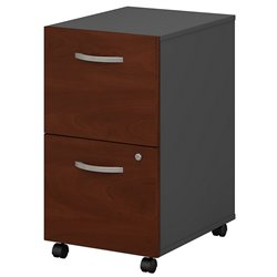 Bush BBF Series C 2Dwr Mobile Pedestal (Assembled) in Hansen Cherry
