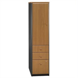 Bush Business Series A Locker (Assembled) in Natural Cherry