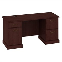 Bush Business Furniture Syndicate Credenza in Harvest Cherry