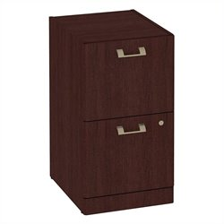 Bush BBF Quantum 2Dwr Pedestal in Harvest Cherry