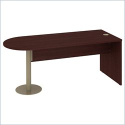 Bush BBF Quantum Universal Freestanding Peninsula in Harvest Cherry